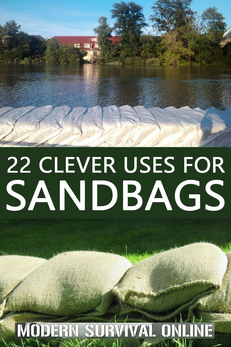 sandbag uses pinterest