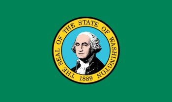 Flag of Washington state