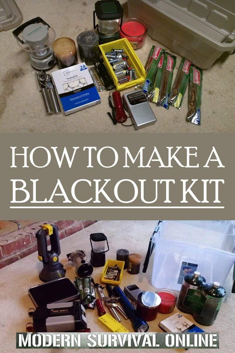 blackout kit Pinterest
