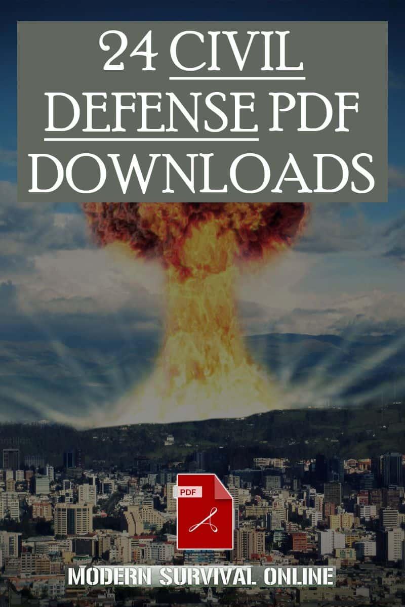 civil defense manuals pinterest pic