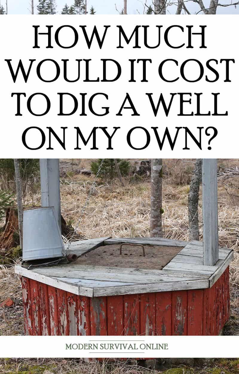 digging your own well pinterest image