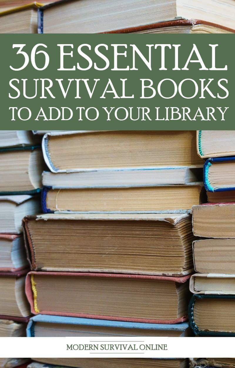 prepper books Pinterest