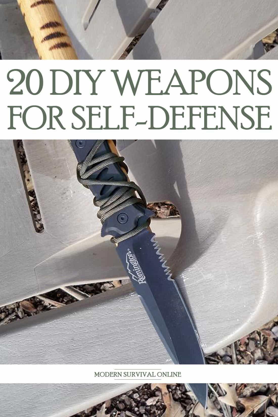 homemade weapons pinterest