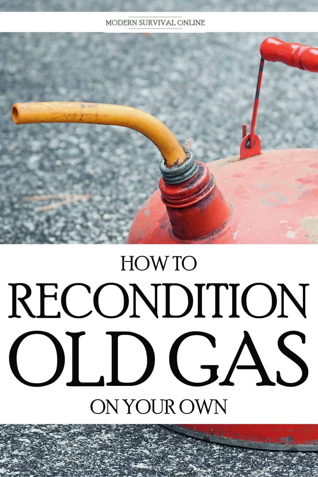 reconditioning gasoline pinterest