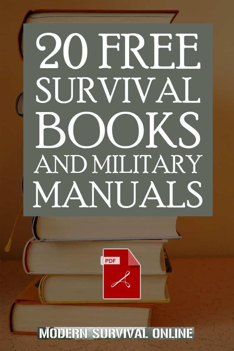 survival manuals pinterest