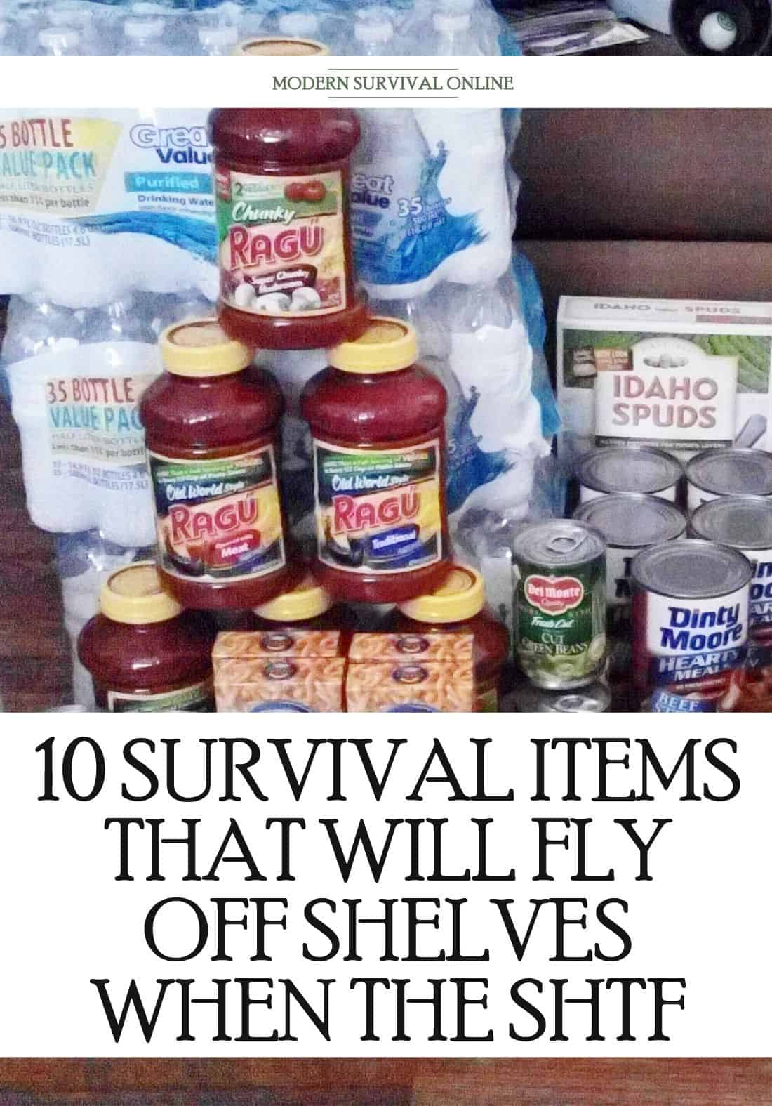 prepping items disappearing when shtf pinterest