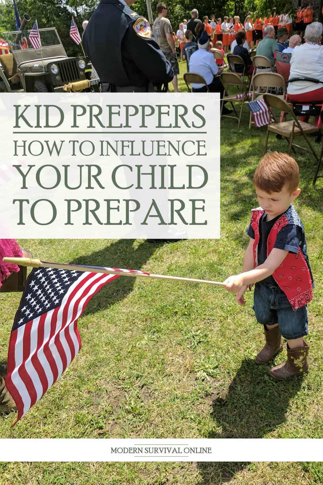 prepper kids pinterest