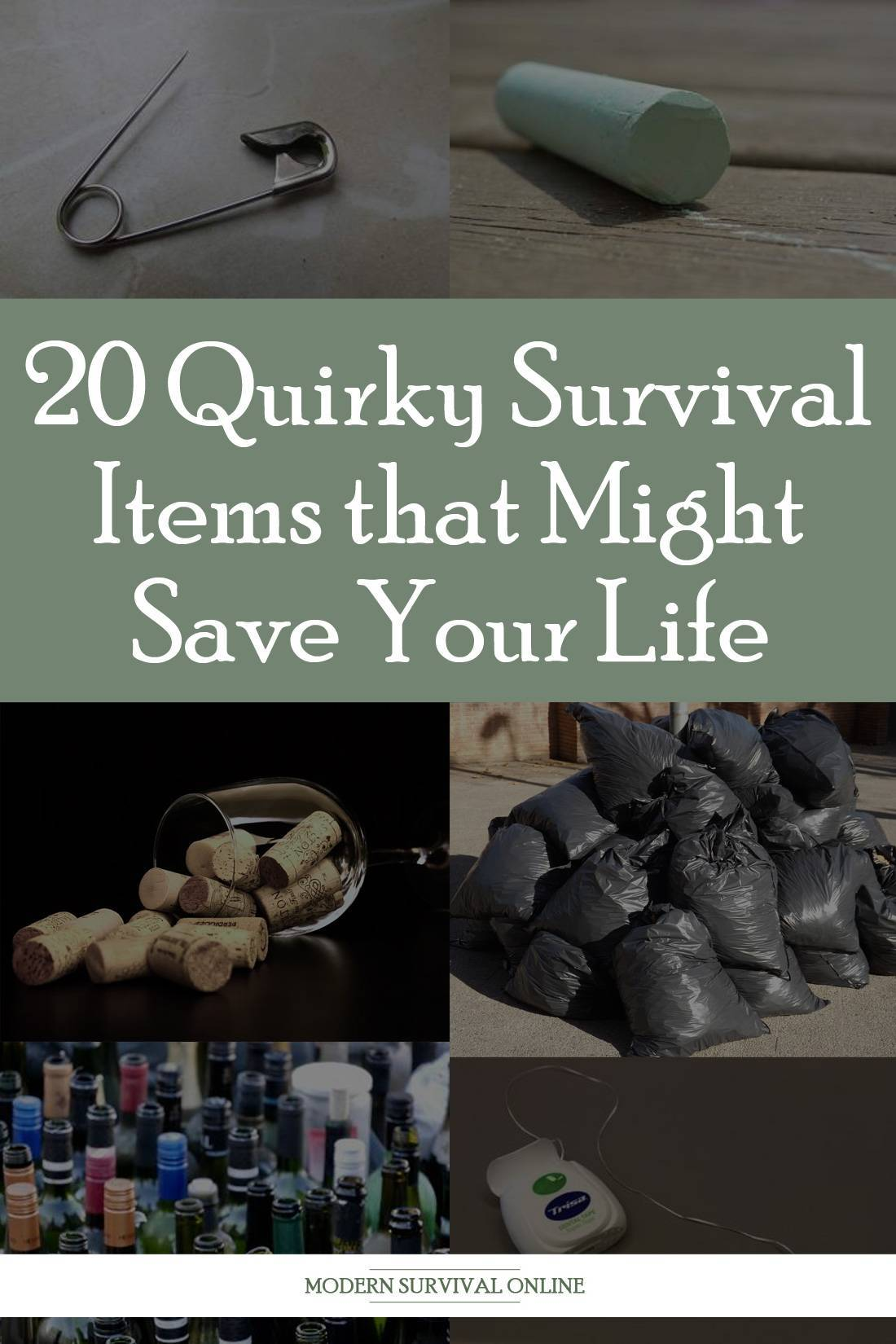 quirky survival items pinterest