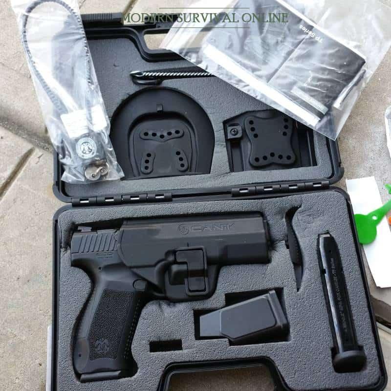 Canik TP9 SA 9mm self-defense handgun