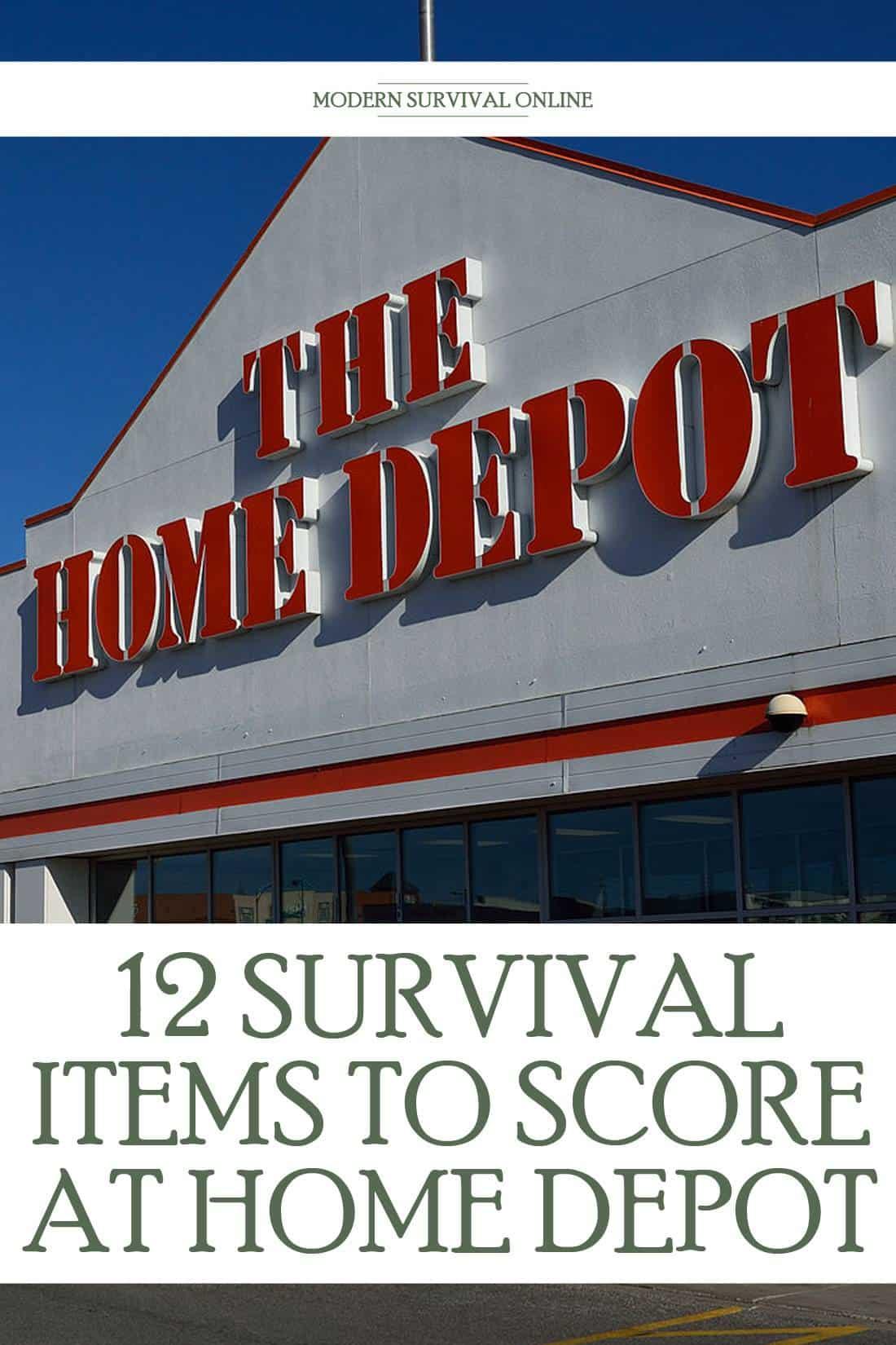 home depot pin image