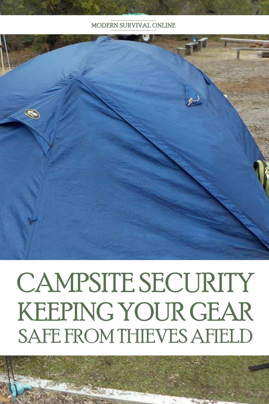 camping security Pinterest image