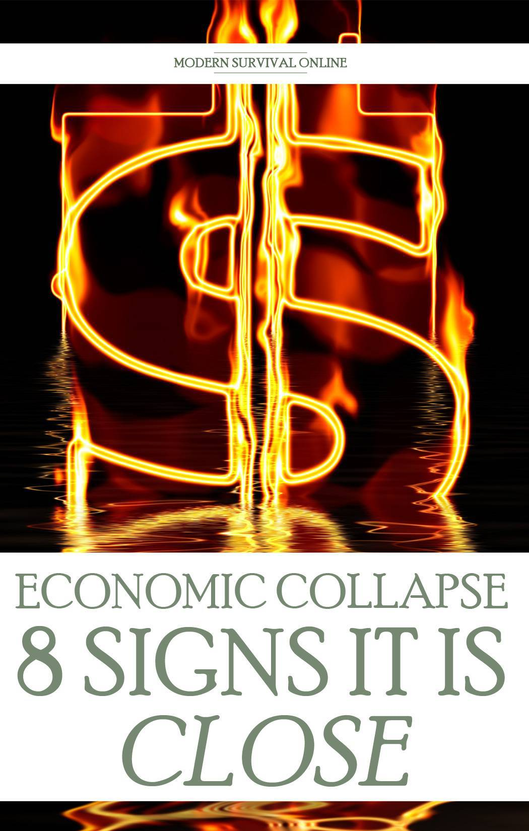signs of economic collapse pinterest
