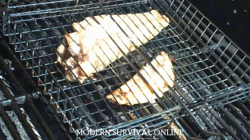 grilling catfish