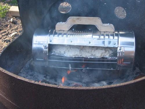 reflector oven on coals